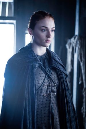 Forged in horror and violence … it's the new, confrontational Sansa Stark.