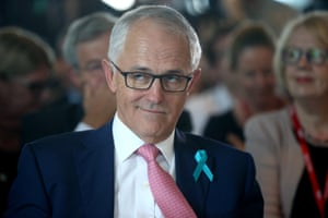 Malcolm Turnbull at the Menzies Research Centre function in parliament house this afternoon.