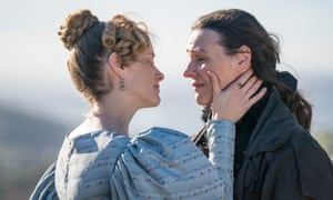 Happy ending ... Suranne Jones as Anne Lister and Sophie Rundel as Ann Walker in Sally Wainwright's Gentleman Jack.