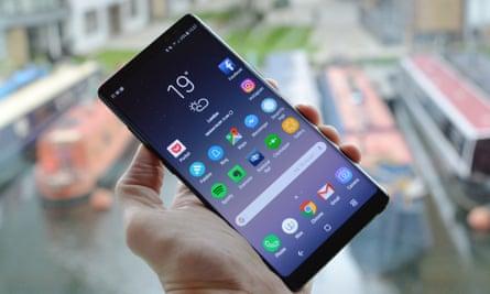 Samsung's Galaxy Note 8 handset