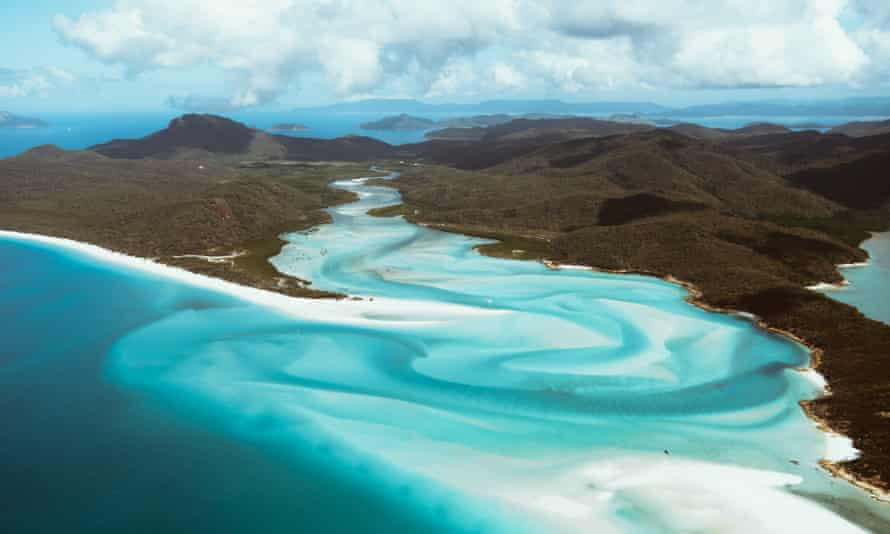 Hill Inlet in the Whitsundays.