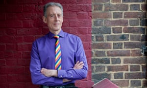 Peter Tatchell photographed on the Rockingham estate, London, where he has lived for 41 years.