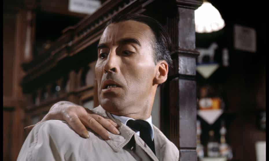 Christopher Lee in Dr Terror's House of Horrors.