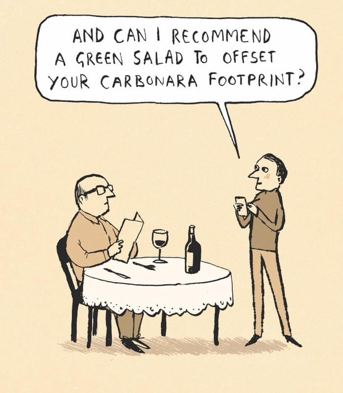 Berger & Wyse on carbon offsetting – cartoon | Life and style | The Guardian