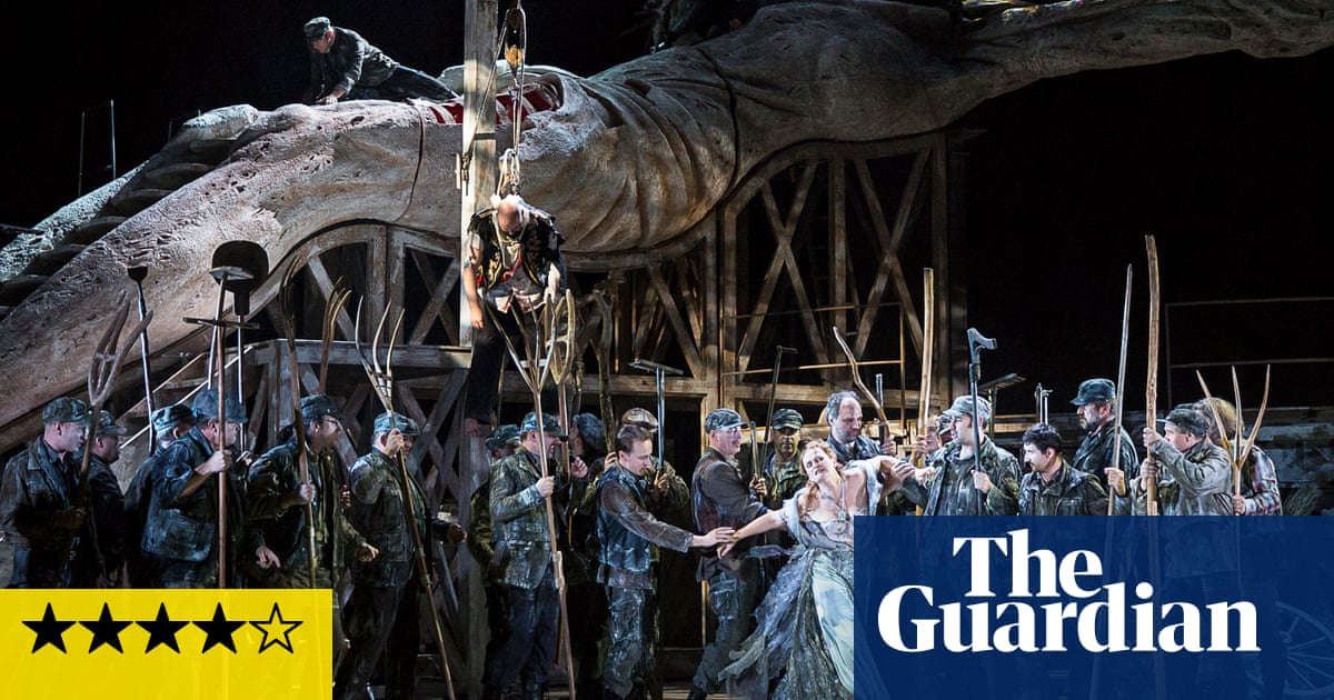 Hindemith: Mathis der Maler review – vivid version of an unmistakably political opera