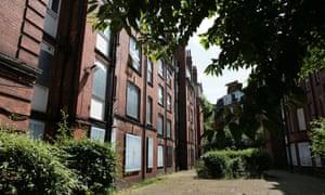 Sutton estate in central London