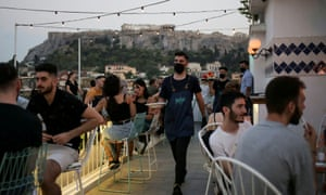 No more than six people will be able to dine together at restaurants in Greece under the new rules.