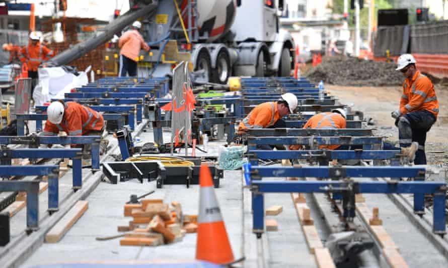 Work on the Sydney CBD light rail is running behind schedule.