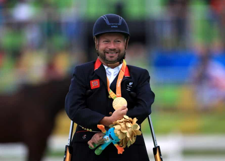 ParalympicGB's Lee Pearson sent an emotional message to Japan's LGBTQ community