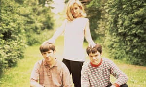 Saint Etienne … Bob Stanley, Sarah Cracknell and Pete Wiggs in 1991