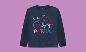 Parra broken bike sweater