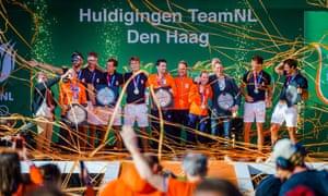 The TeamNL Olympic Festival in Scheveningen