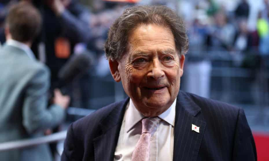 The former chancellor Nigel Lawson, a noted climate denier.