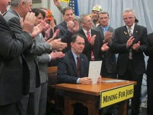 Scott Walker mining bill