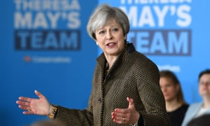 Theresa May Attends A Campaign Event In North West London