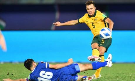 Socceroos' breezy victory maintains unbeaten streak with far sterner tests ahead   Emma Kemp