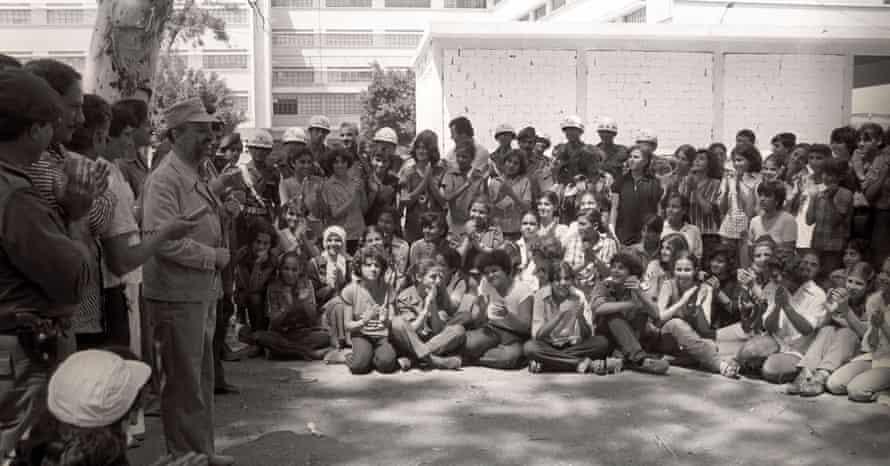 Girl Scouts of the Revolution, Lebanon, 1980