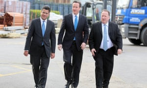 Alok Sharma, left, became the minister for housing, planning in Theresa May's reshuffle