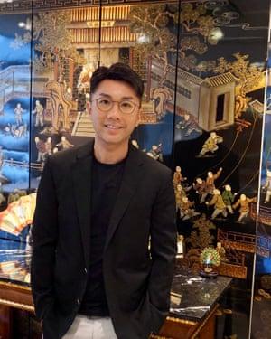 Feng shui master John Choi.