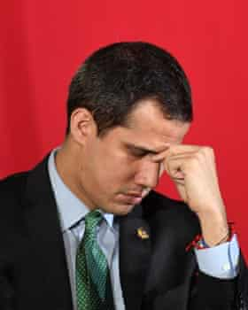 The opposition leader Juan Guaido called the raid 'regrettable'.