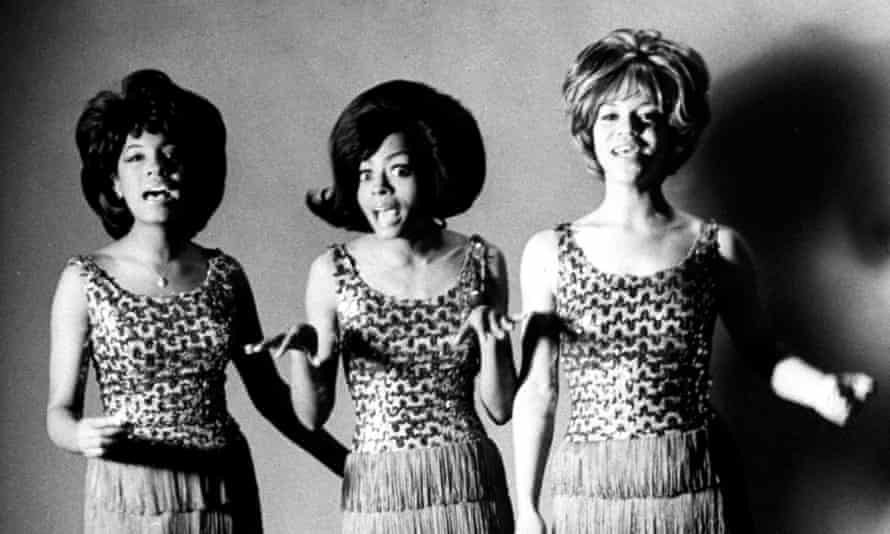 Supreme: Mary Wilson, Diana Ross and Florence Ballard (right)