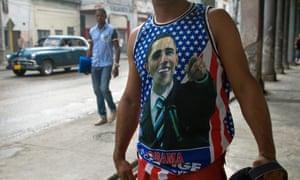 Obama T-shirt in Havana