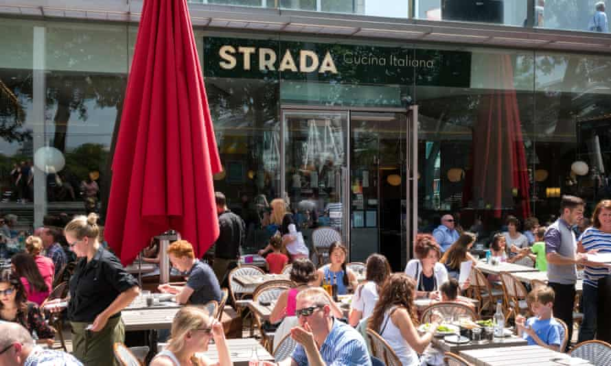 A branch of Strada in London.