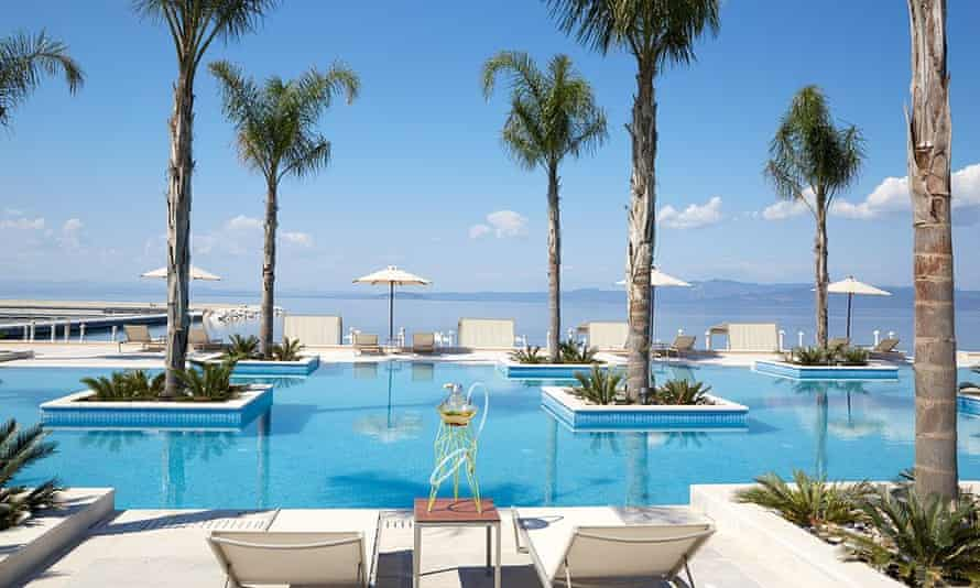 Miraggio Thermal Spa Resort, Halkidiki, Greece.