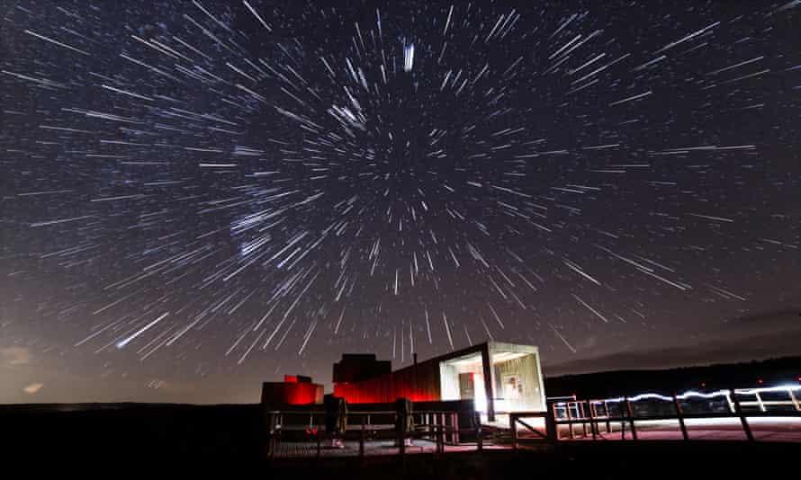 Light show: the Kielder Observatory in Northumberland.