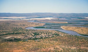 Oombulgurri from the air in 1993