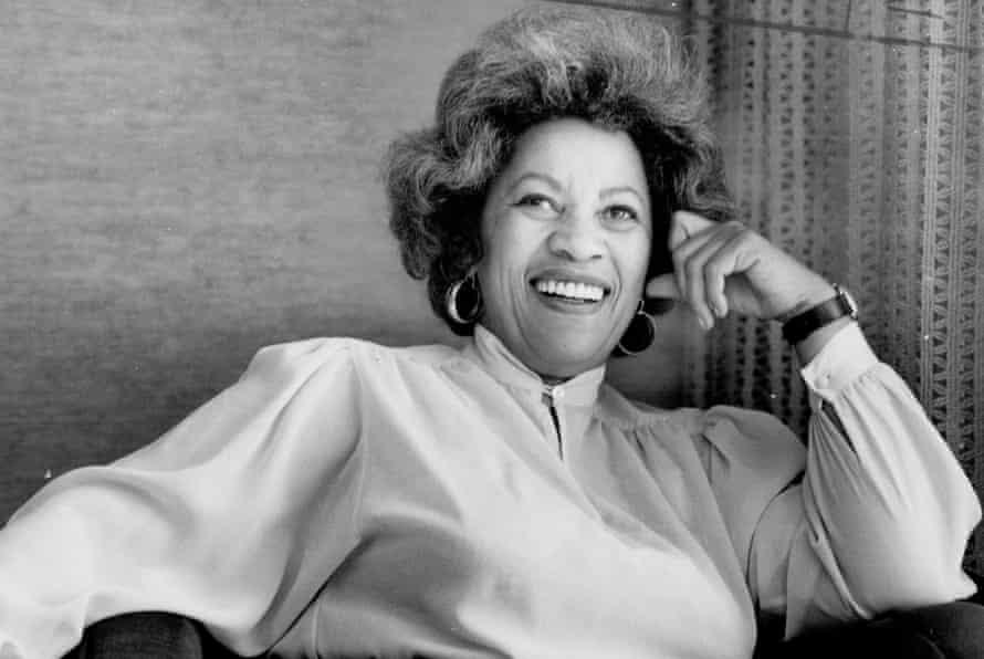 Toni Morrison in a 1982 image.