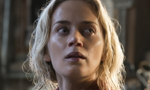 A cracking back-to-basics thriller … Emily Blunt in A Quiet Place.
