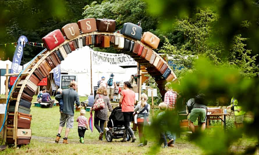 The gates of Just So Festival