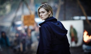 Anna Macy (Elizabeth Debicki) in The Kettering Incident which premieres on Showcase