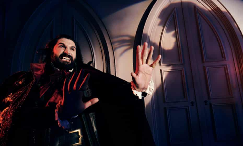 There will be blood ... Kayvan Novak as Nandor in What We Do in the Shadows