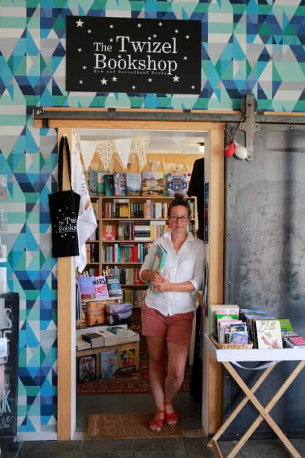 Renee Rowland of The Twizel Bookshop, New Zealand
