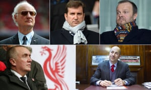 The executives at the meeting were, from top left: Chelsea's Bruce Buck, Manchester City's Ferran Soriano, Manchester United's Ed Woodward, Arsenal's Ivan Gazidis and Liverpool's Ian Ayre.