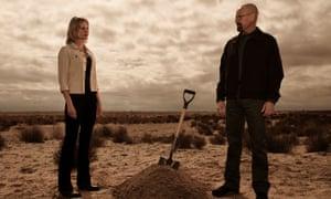 Skyler White (Anna Gunn) and Walter White (Bryan Cranston).