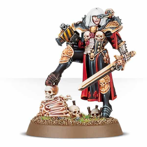 A Warhammer collectible.