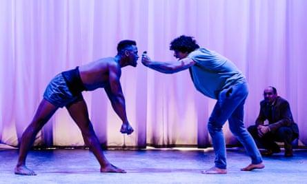 Ira Mandela Siobhan and Ethan Kai in Equus.
