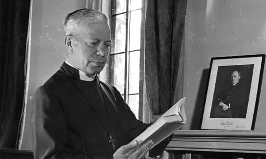 George Bell , former bishop of Chichester, in 1943