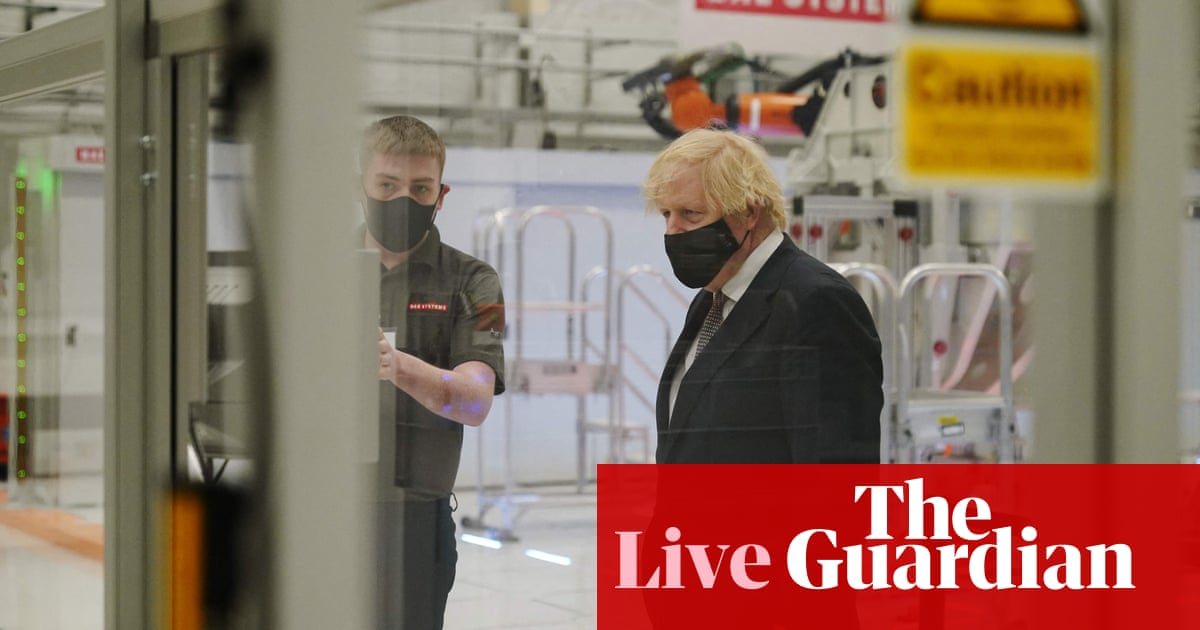 UK Covid live: Johnson calls for vaccine 'cooperation' and says third wave now hitting EU will affect Britain