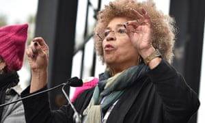 Angela Davis at the Women's March