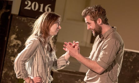 Rosie Armstrong and Harry Long in This Land, directed by Jo Newman.