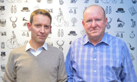 Rick Gibson and Ian Livingstone of the British Games Institute