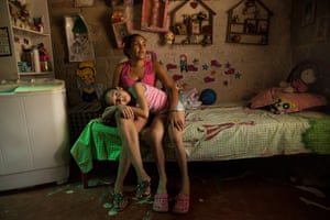 Saray and Nayeth are Colombians who are both HIV positive and helped by and NGO dedicated to lifting people out of poverty, Valerie Paumelle FXB International.