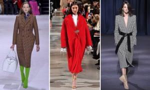 Balenciaga, Oscar de la Renta and Givenchy