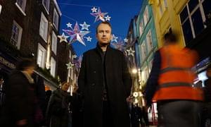 Matt Haig on Carnaby Street in London