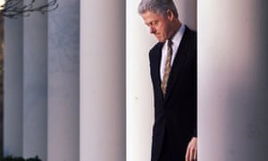 Bill Clinton at the White House in 1999