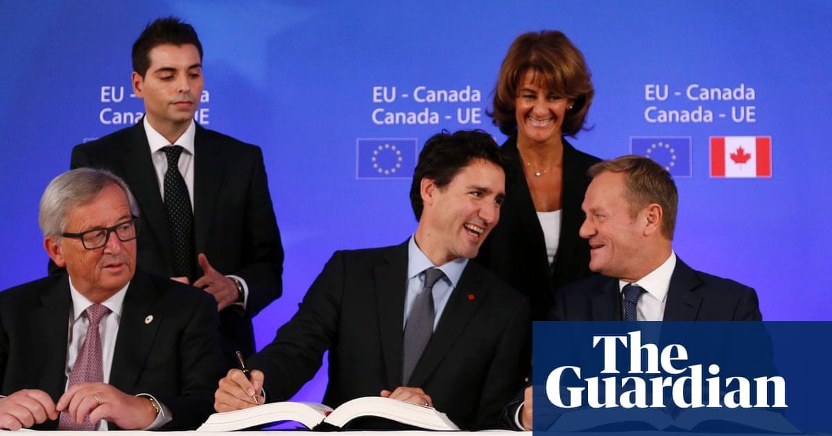 Eu And Canada Sign Ceta Free Trade Deal Business The Guardian